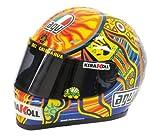 AGV 1: 2 della scala del casco di Valentino Rossi MotoGP 2008