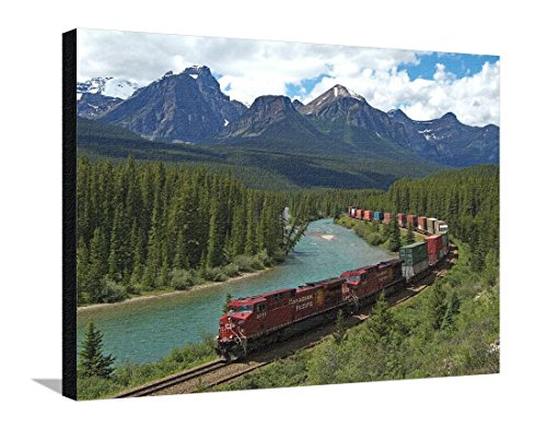 reproduction-sur-toile-tendue-morants-curve-bow-river-canadian-pacific-railway-near-lake-louise-banf
