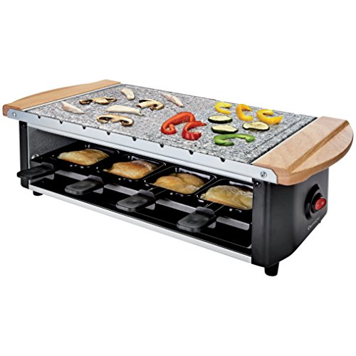 Domoclip Set Raclette + Grill schwarz