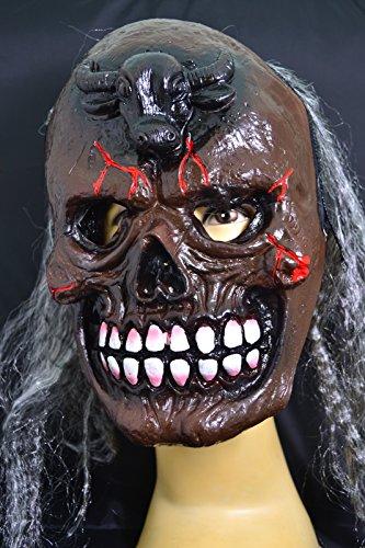 Smartfox Halloween Latex Maske - Stier