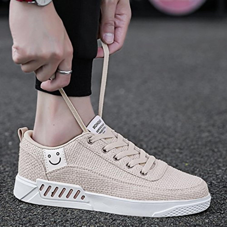 YaNanHome Zapatos para Hombre/Alpargatas Zapatos de Lona de Verano Zapatos de los Hombres Zapatos de Tabla de