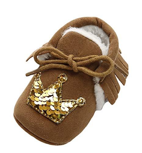 504b461e1b460 ❤️Amlaiworld Bébé Bandage Coton Chaussures Paillettes Chaudes Chaussures  pour Tout-Petits Chaussures pour Enfants