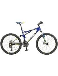 Boss Recoil Mens 24 Velocidad para Bicicleta de montaña de Doble suspensión con ...