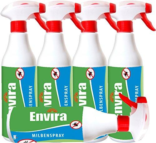Milbenmittel Milbenspray ENVIRA 5x500ml