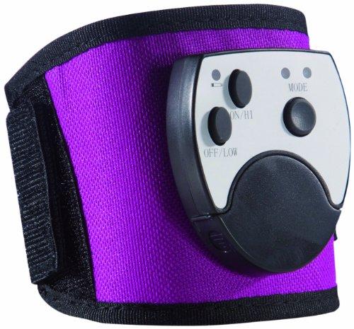 TV Das Original 04397 Slimmaxx - Aparato de musculación para pierna o brazo con accesorios (7 piezas), color negro y lila