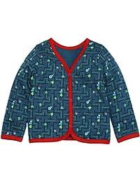 Kadambaby - baby jacket / newborn cardigan for everyday wear, 100% cotton MONSTER printed