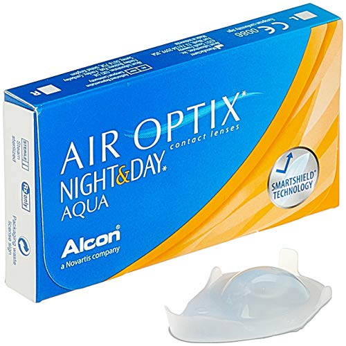 Alcon Air Optix Night and Day Aqua Monatslinsen weich, 3 Stück / BC 8.6 mm / DIA 13.8 mm / -2.5 Dioptrien
