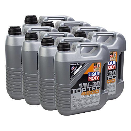 Preisvergleich Produktbild 8x LIQUI MOLY 3707 Top Tec 4200 5W-30 Motoröl