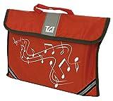 TGI TGMC1R Pochette à musique - Rouge