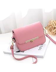 Malilove El Verano La Moda Todo Partido Bolsa Crossbody,Pink