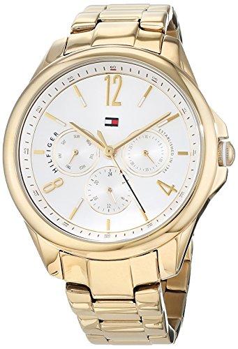 Tommy Hilfiger Reloj Multiesfera para Mujer de Cuarzo con Correa en Acero Inoxidable 1781833