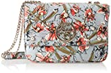 Guess Gioia, Women's Shoulder Bag, Multicolour (Blue Floral/Blf), 28x19.5x15 cm (W ...