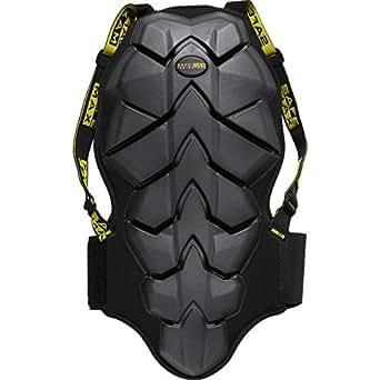 Safe Max Rückenprotektor zum Umschnallen für Damen & Herren, Schutzkleidung Motorrad, luftdurchlässiges Komfortgewebe, integrierter Nierengurt, Bauart geprüft nach EN 1621-2, Schutzklasse 2, S