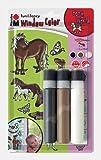 Marabu 040600114 - Window Color 3x25ml Pony World