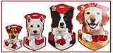 Weihnachtshalsband für Hunde Weihnachten Halsband Schmuckhalsband christmas collar (L)