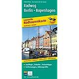 Radweg Berlin - Kopenhagen: Leporello Radtourenkarte mit Ausflugszielen, Einkehr- und Freizeittipps, wetterfest, reißfest, abwischbar, GPS-genau. 1:50000
