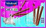 Vita Fuerza gato Snack Cat de Stick Mini, Paquete de 3, (3 x 6 Piezas)