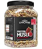 Layenberger LowCarb.one Protein Müsli Himbeer-Erdbeer, 3er Pack (3 x 565 g) (Bild: Amazon.de)