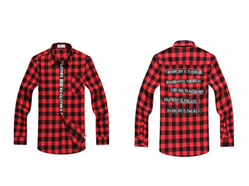 unknown-chemise-casual-homme-rouge-xxxx-large
