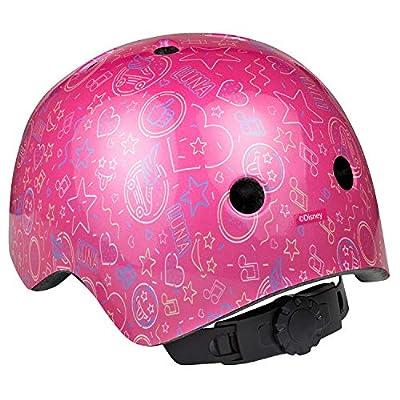 SOY LUNA Mädchen Inlineskating Helm, Pink, 50-54cm