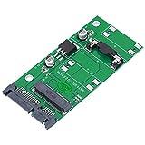 Tangxi MSATA zu SATA Adapter, MSATA1S-N02 PCI-E zu SATA3.0 Converter Adapterkarte, mSATA SSD zu 2,5 Zoll Adapter Konverter, Plug and Play