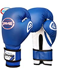 Junior kids 6-oz Boxing Gloves Sparring , training bag mitt gloves by Farabi Sports