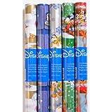 Als Geschenkidee zu Weihnachten bestellen Für die Kinder - 5 Rollen DISNEY Weihnachts Geschenkpapier, 200 x 70 cm, Weihnachten