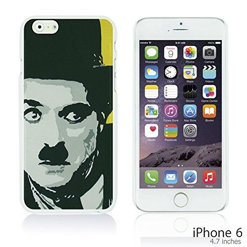 OBiDi - Celebrity Star Hard Back Case / Housse pour Apple iPhone 6 / 6S (4.7 inch)Smartphone - Che Guevara Chaplin