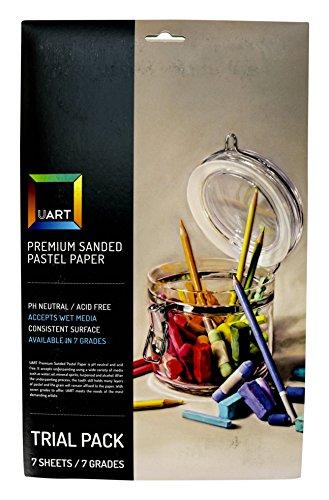 uart-premium-sanded-pastel-paper-tial-pack