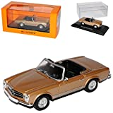 alles-meine.de GmbH Mercedes-Benz 230SL Pagode Roadster Gold Silber W113 1963-1971 1/43 Minichamps Maxichamps Modell Auto
