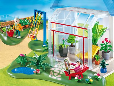 Preisvergleich Produktbild PLAYMOBIL 4281 - Wintergarten mit Sonnenterrasse
