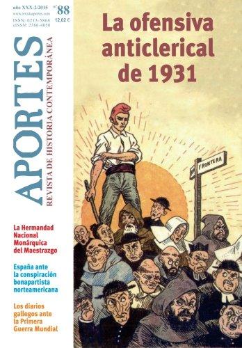 Aportes. Revista de Historia Contemporánea 88, XXX (2/2015) por Aportes. Revista de Historia Contemporánea
