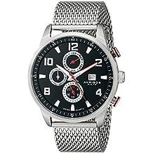 Akribos XXIV AK784SSB - Reloj de Cuarzo para Hombres, Color Plata