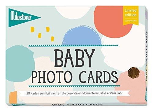 Milestone Cards LIMITED EDITION - Die original Babycards von Milestone - deutsche Version, 30 Fotokarten -