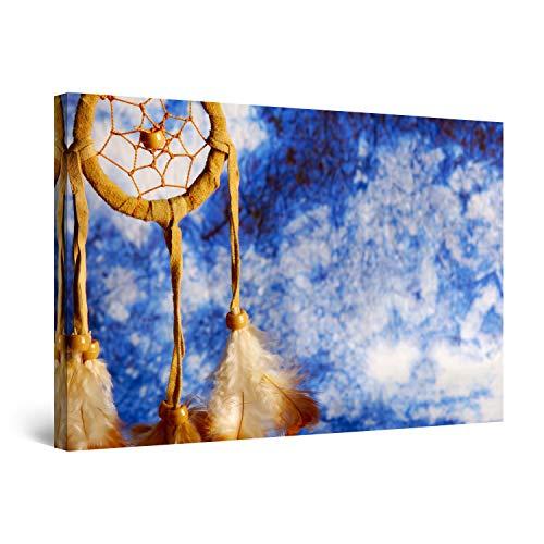 Startonight Cuadro sobre Lienzo Atrapasueños, Impresion en Calidad Fotografica Enmarcado y Listo Para Colgar Diseño Moderno Decoración Formato Grande 60 x 90 CM