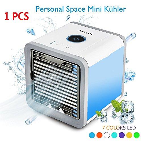 Treu Mini Klimaanlage Klimagerät Luftbefeuchtung Turmventilator Mobil Fernbedienung Büro & Schreibwaren