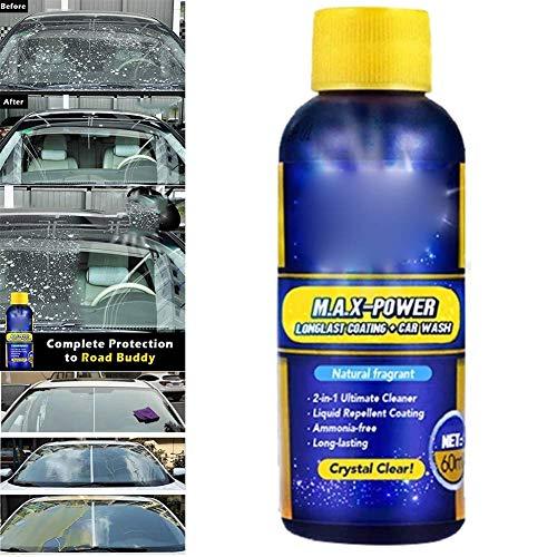 Gakoz Auto Glas Antibeschlag Agent Nebel Flüssigkeit Auto Regenfest Agent Glas Belag Reiniger Regen Marke Entferner -