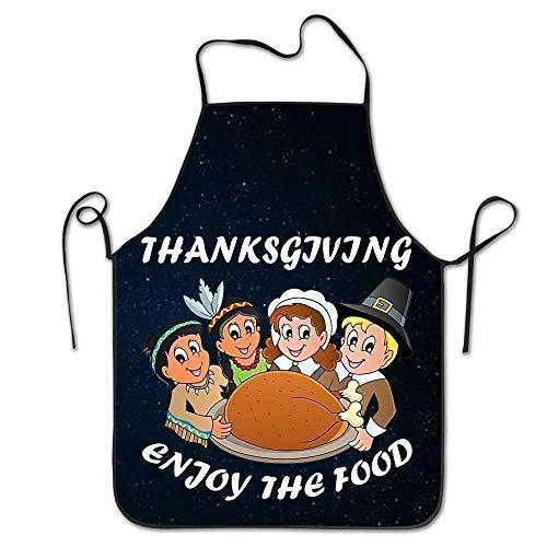HTETRERW Thanksgiving Turkey Women's Funny Creative Print Cooking - Haar Stylist Kostüm