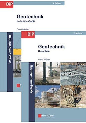 Geotechnik Set: Grundbau und Bodenmechanik (Bauingenieur-Praxis)