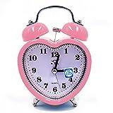 Best Alarm Clocks For Kids - LA HAUTE Kids Alarm Clock Silent Desk Travel Review
