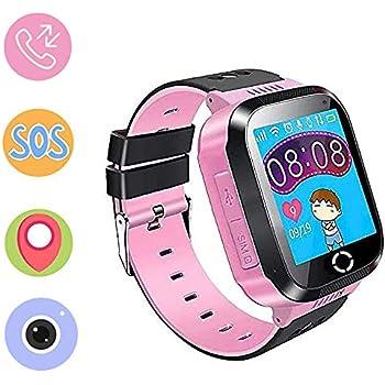 Jaybest Reloj Niños GPS Track SmartWatch Phone, Smartwatch para ...