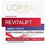 L'Oreal Paris Revitalift Pro Retinol Anti-Wrinkle Night Cream 50ml (Packaging May Vary)