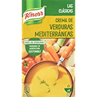 Knorr Crema Líquida de Verduras Mediterráneas - 1 l