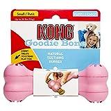 Kong Puppy Kong Goodie Bone Spielzeug-Knochen und Leckerli-Spender für zahnende Welpen Größe S/M