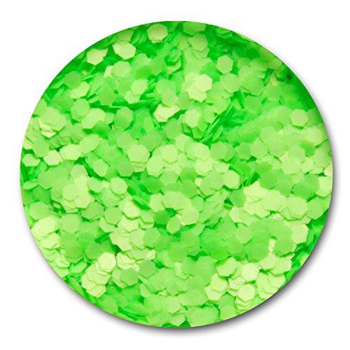 Nailart Konfetti Neon-Grün 1mm