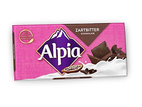 Alpia Schokolade Zartbitter, 100g