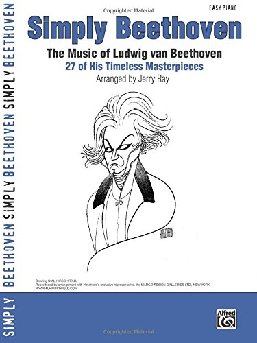 Beethoven Simply Beethoven (Ray Jerry) Easy Piano Book (Simply Series)