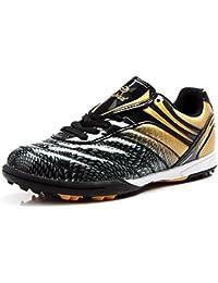 QLVY Sport Schuhe Herren Fußball Schuhe Gebrochene Nägel Flaches Bodenlicht und Komfortabel Grün 43 jdA6Qs0