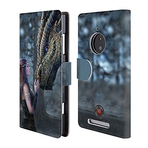 Coque Pour Lumia 830 - Officiel Anne Stokes Autrefois Amitié De Dragon