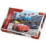 Disney Cars 2 Rennen in London 100 Teile Puzzle - 16295 - Nifaera